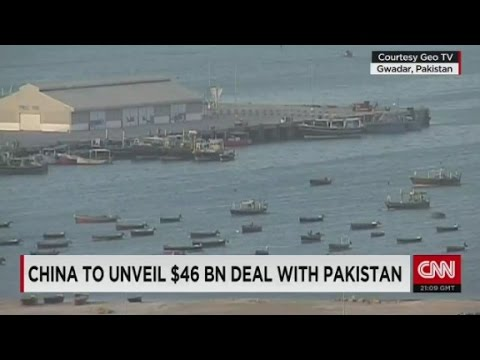 The deal involves expanding the 'Maritime Silk Road...