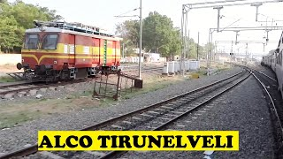 WDM3A Guruvayur Chennai Honks Tirunelveli Junction