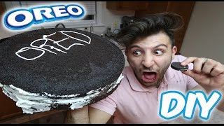 (MASSIVE!!!) DIY GIANT OREO COOKIE | HOW TO MAKE A GIANT OREO COOKIE (100+ LB BIGGEST OREO OVER)