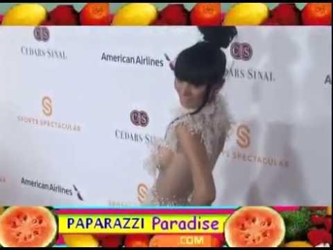 BAI LING wears revealing fashion to Sports Spectacular gala