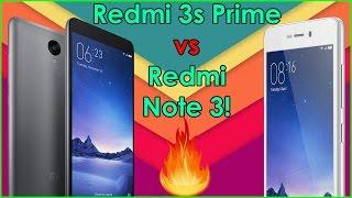 Redmi 3s Prime vs Redmi Note 3! Speed test Comparison!