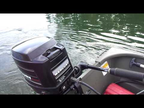 20 HP Mercury on 1436 aluminum Jon boat