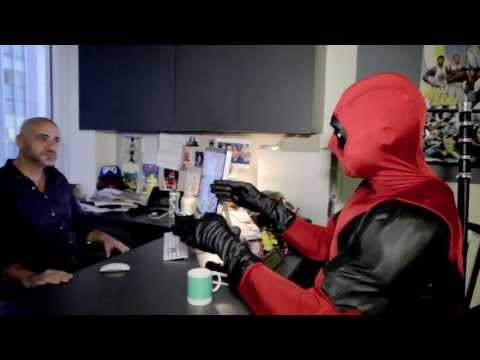 Deadpool visits Marvel HQ - Axel | HD