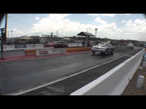Little Country's Mustang Spinout & Crash at Lakeland X275 Race