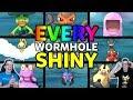 Finding EVERY Ultra Wormhole Shiny Pokemon! Pokemon Ultra Sun and Ultra Moon Shiny Reaction Montage
