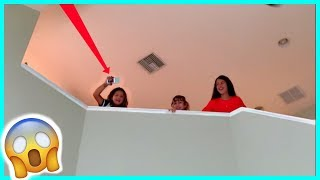 DROPPING MY IPHONE FROM THE SECOND FLOOR / MOM IS MAD | SISTERFOREVERVLOGS #534
