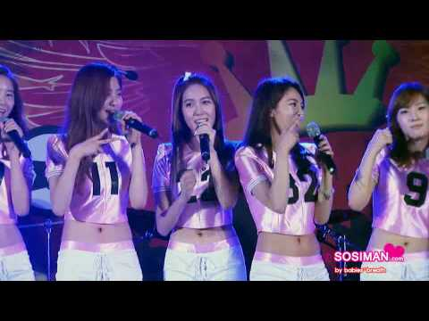 [fancam] 100724 Snsd - Cabi Song???  carribean Bay Mini Concert [short Clip] video