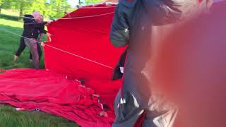 Getting the balloon inflated