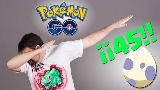 Opening 45 eggs of 10 km !! Pokemon GO - Keibron Gamer