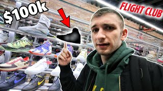 WHAT CAN $100K BUY YOU AT FLIGHTCLUB?! THESE SNEAKERS ARE INSANE!