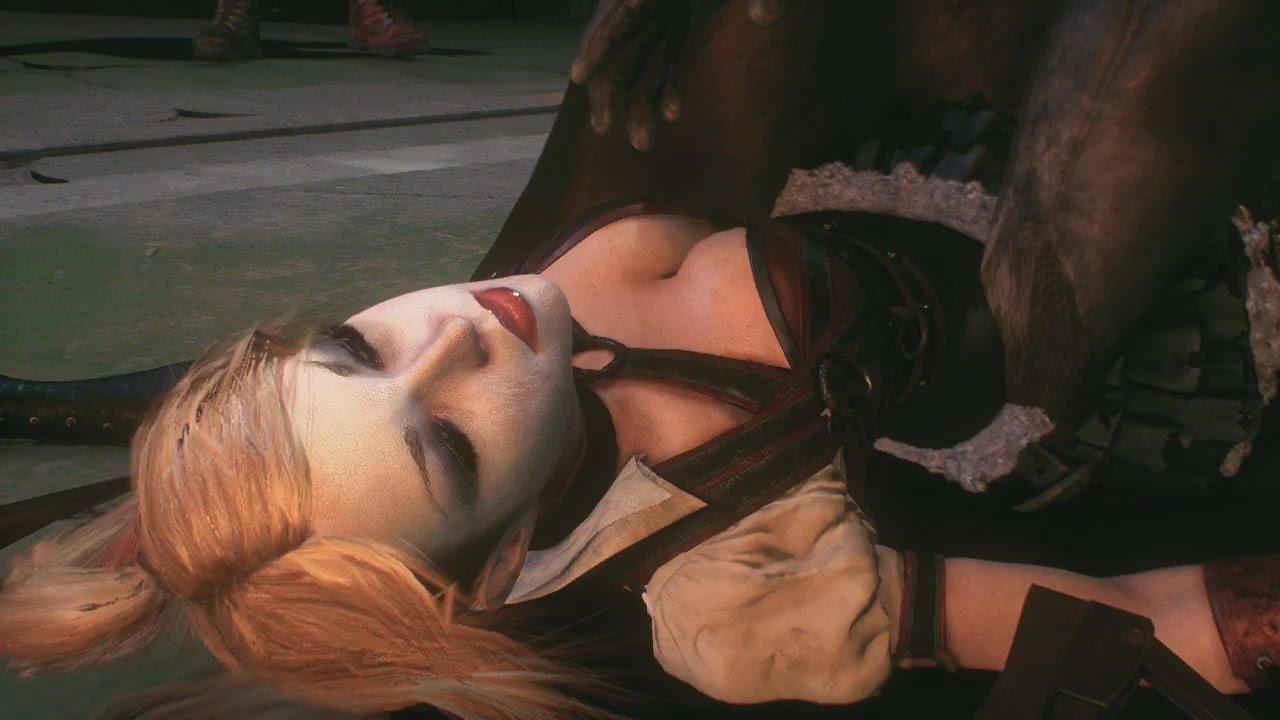 Arkham pussy naked bad woman