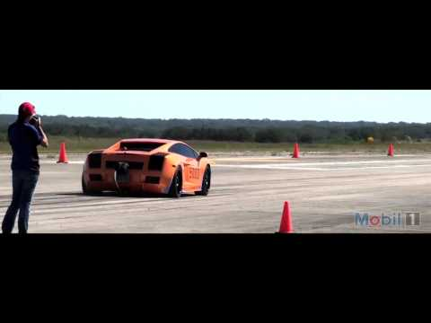 Kyle's Underground Racing Twin Turbo Lamborghini Gallardo - 241 at The Texas Mile - TTG Mobil 1