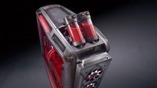 """Rebel A"" Case Mod Part 5, FINAL: Cooler Master Cosmos II PC by Mnpctech.com"