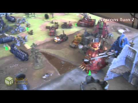 Orks vs Necrons Apocalypse Battle Report - 5000 Points Part 2/3