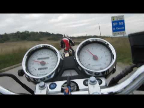 Ducati Monster 696 & Kawasaki ZR-7 Riding in Tuscany