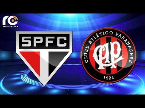 São Paulo x Atlético-PR | AO VIVO | Brasileirão