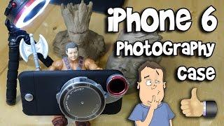 iPhone 6 Camera Case w/ Multiple Lenses & Ring Light - ZTYLUS