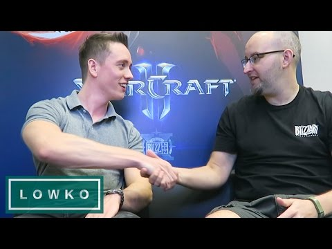 StarCraft 2: Lead Game Designer Interview At BlizzCon 2016!