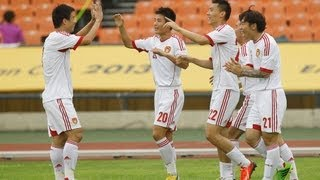HIGHLIGHTS 中国 4:3 澳大利亚 全场集锦 CHINA 4:3 AUSTRALIA  East Asian Cup 2013