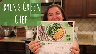 COOK WITH ME | GREEN CHEF | HOME DELIVERY SERVICE