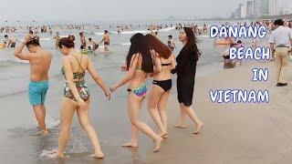 Du Lịch Đà Nẵng - Bãi Biển Mỹ Khê Nhộn Nhịp Du Khách Trong Và Ngoài Nước | Travel In Danang Vietnam