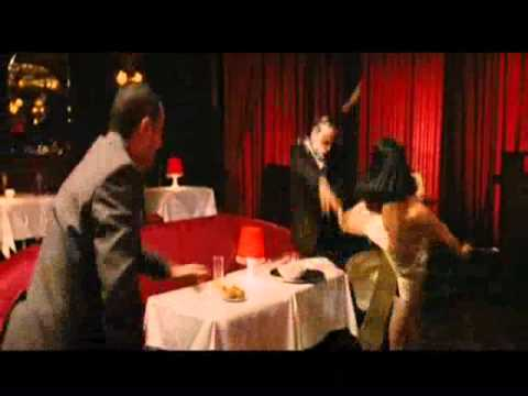 ElodieYung fights in a French comedy movie