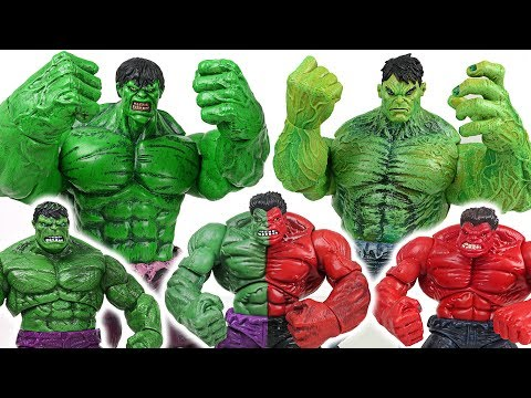 Thanos stole Infinity Stone! Marvel Hulk brother and red reproduction hulk army! Go! - DuDuPopTOY