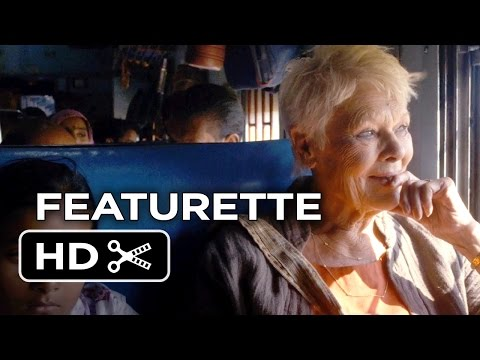 The Second Best Exotic Marigold Hotel Featurette - Sequel (2015) - Judi Dench Movie HD