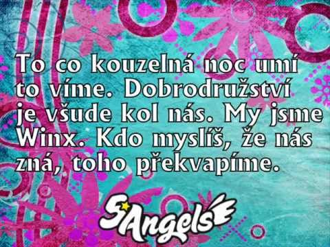 5Angels - Winx Club - Text