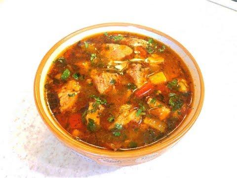 Венгерский суп гуляш- Бограч! Первое и второе блюдо - в одном!