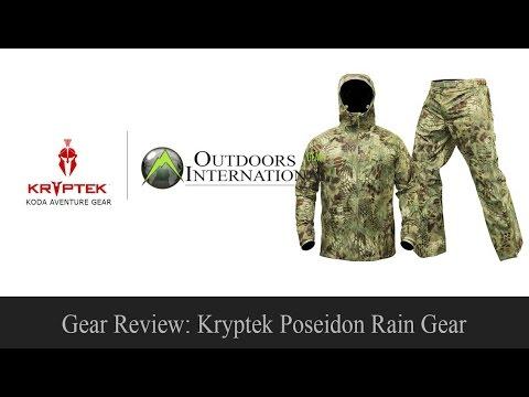 GEAR REVIEW: Kryptek Poseidon Rain Gear
