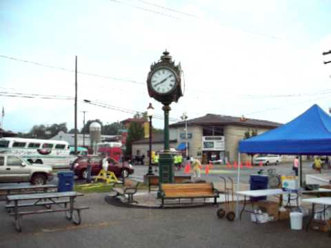 Coopersville Michigan clock tower 8.13.11