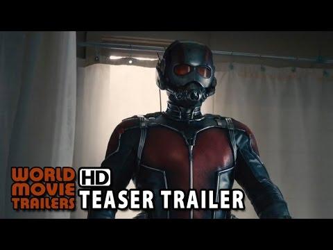 Homem-Formiga Teaser Trailer Oficial (2015) - Paul Rudd HD