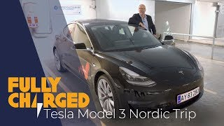 Tesla Model 3 Performance Review: A Tesla Nordic Roadtrip | Fully Charged