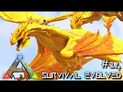 MODDED ARK: SCORCHED EARTH - ALPHA WYVERN ARMY !!! E14 (ARK SURVIVAL EVOLVED GAMEPLAY)