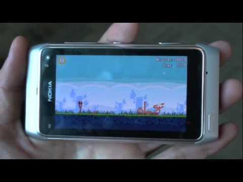 Tinhte.vn - Angry Birds (Lite) trên Symbian^3