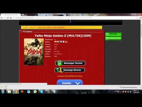 Descargar e Instalar Yaiba Ninja Gaiden Z Pc Full Español (torrent) 3dm y config. idioma español