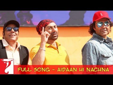 Main Taan Aidaan Hi Nachna - Full Song - Yamla Pagla Deewana 2
