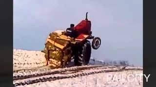 ULTIMATE TRACTOR FAILS 2015 ★