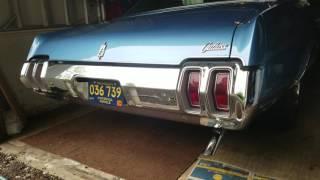 1970 Oldsmobile Cutlass Supreme 350 exhaust sound