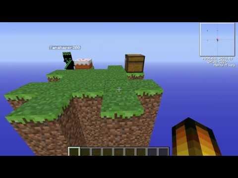 Minecraft 1.6.2 nameMethos' Skyblock + Download der Map