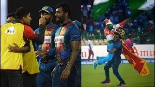 Watch How Srilankan fans celebrating INDIAs Winning Against Bangladesh IN NIDAHAS T20 FINAL