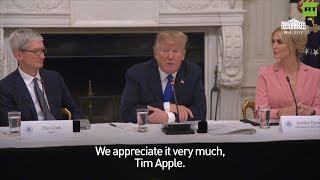 Donald Trump calls Apple CEO 'Tim Apple'