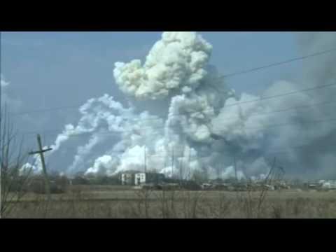 Балаклея, Харьков, началась детонация складов с Точками-У и РСЗО