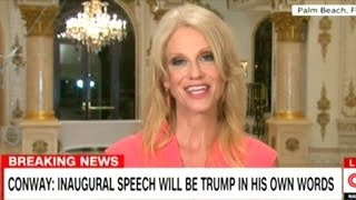 "Kellyanne Conway ""RUSSIA! RUSSIA! RUSSIA!"" HILLARY CLINTON DIDN"