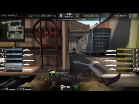 ESEA Premier Season 21 - Games Academy vs. ACE Gaming (Train) - Narração PT-BR