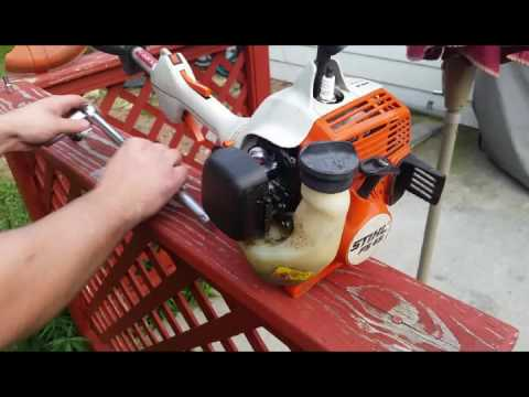 Episode 1: new carb and tune up on a Stihl FS 45 trimmer