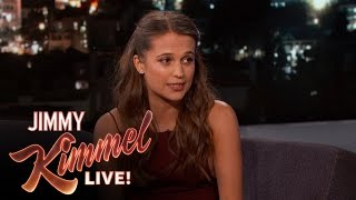 Alicia Vikander Correctly Pronounces Her Name