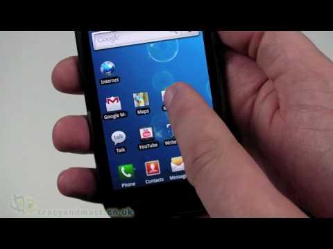 Samsung Galaxy S Demo video