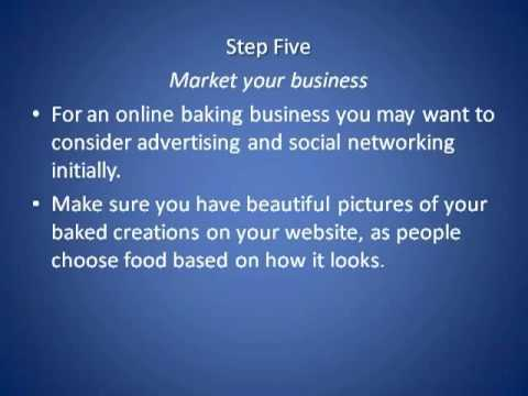 Work At Home Business: How to Start Your Own Online Baking Business